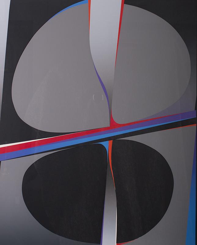 <strong>Gunnar S. Gundersen</strong><br /> Komposisjon<br /> Serigrafi
