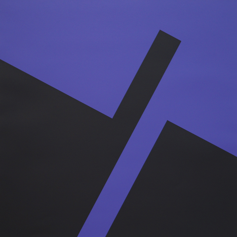 <strong>HERMAN HEBLER</strong><br /> <em>Erupsjon 4</em><br /> Serigrafi, 65 x 65 cm<br /> Opplag: 30