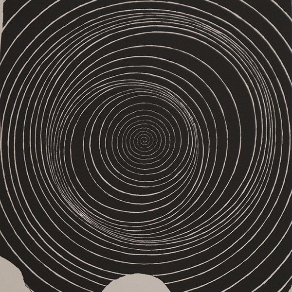 <strong>BJ&Oslash;RN RANSVE</strong><br /> <em>Skjev spiral</em>, 2007<br /> Litografi, 43,0 x 39,2 cm<br /> Opplag: 145<br /> BR-G&nbsp;1084